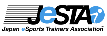 JeSTA(日本eスポーツトレーナー協会)リンク用バナー(青字)